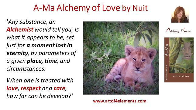 alchemy of soul quote from Ama Alchemy of Love Historicl Spiritual Ficition Book by Nataša Pantović Nuit